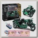 Радиоуправляемый конструктор Cada deTech Мотоцикл (629 деталей)