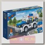 Конструктор Полицейская машина, 100 деталей