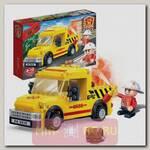 Конструктор Пожарные - Пикап, 105 деталей
