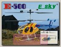Радиоуправляемый вертолет E-SKY E-500 35Mhz RTF