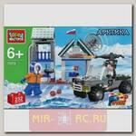 Конструктор Арктика - Военная база с фигурками, 232 детали