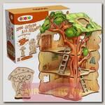 Деревянный конструктор Дом-дерево для Лешиков, 22 детали