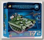 Радиоуправляемый пластиковый конструктор COBI Танк T-72 v2 с фигуркой