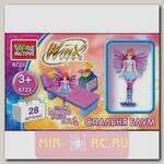Конструктор Winx Спальня Блум, 28 деталей