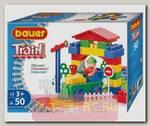Детский конструктор Железная дорога, 50 дет.