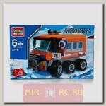 Конструктор Арктика - Полярный вездеход, 170 деталей