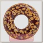Надувной круг Шоколадный пончик, 114 см