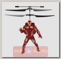 Радиоуправляемый вертолет Robocar Poli Железный человек