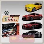 Радиоуправляемый автомобиль-конструктор BMW, Nissan, Bugatti Veyron и Audi R8