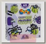 Конструктор Zoob Glow - Жуткие существа, 60 деталей