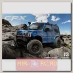 Радиоуправляемая модель для Трофи-Триала MST CFX 4WD KIT 1:10 (набор д/сборки) с кузовом J3 Blue