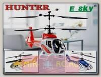 Радиоуправляемый вертолет E-SKY EC130 Hunter 2.4Ghz RTF