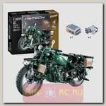 Радиоуправляемый конструктор Cada deTech Мотоцикл World War II (550 деталей)