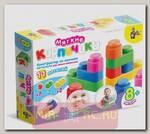 Конструктор для малышей Мягкие кирпичики, 11 деталей