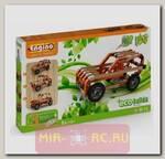 Деревянный конструктор 3 в 1 Eco Builds - Внедорожники, 186 деталей