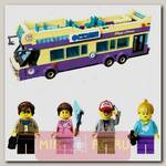 Пластиковый конструктор Туристический автобус, 455 деталей