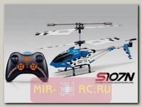 Радиоуправляемый 3-ch мини-вертолет Syma S107N с гироскопом на ИК управлении