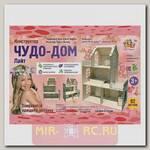Деревянный конструктор Чудо дом - Лайт, 82 детали