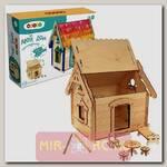 Деревянный конструктор Мой дом, 74 детали