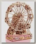 Деревянный механический 3D-пазл Wood Trick Колесо обозрения