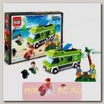 Конструктор Зеленый фургон, 380 деталей