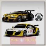 Радиоуправляемый автомобиль-конструктор Bugatti Veyron и Audi R8 Sport