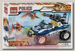 Конструктор Brick Полицейская машина с фигурками людей