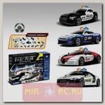 Радиоуправляемый автомобиль-конструктор BMW, Nissan, Bugatti Veyron и Audi R8 'Полиция'