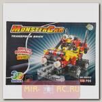 Пластиковый конструктор Monster Car 3D, 175 дет.