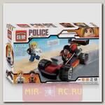 Конструктор Police - Погоня за гоночной машиной, 93 детали