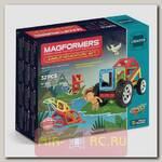 Магнитный конструктор Jungle Adventure Set, 32 детали