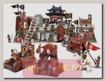 Конструктор Крепость-скала - Осада китайской крепости, 846 деталей