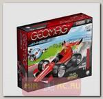 Магнитный конструктор Гоночная машина, красная, 25 деталей