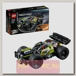 Конструктор Лего Техник - Зеленый гоночный автомобиль