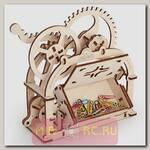 Деревянный 3D конструктор Ugears Механическая шкатулка