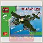 Конструктор Военная техника - Истребитель-перехватчик, 190 деталей