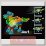 Светящийся конструктор 4 в 1 Животное, 48 деталей