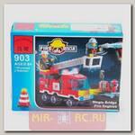 Конструктор Fire Rescue, 130 деталей