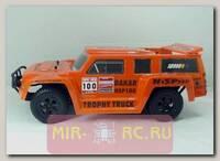 Радиоуправляемая модель Шорт-корс трака HSP Trophy Truck Dakar H100 4WD RTR 1:10 (б/к сист.) влаг.