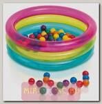 Надувной бассейн с шариками Baby Ball Pit, 86 х 25 см