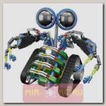 Конструктор LOZ Робот-Турбо на батарейках (362 детали)