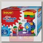 Детский конструктор Mechanic Blocks - Домик, 50 деталей
