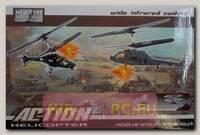 Радиоуправляемый вертолетный бой Easy To Fly Action Helicopters ИК-управление