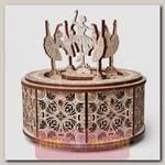 Деревянная музыкальная шкатулка Wood Trick Танцующие балерины