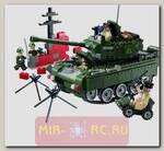 Конструктор Зона боевых действий - Военная техника, 466 деталей