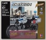 Радиоуправляемый конструктор Cada deTech Мотоцикл Police (539 деталей)