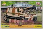 Пластиковый конструктор COBI Танк Panzerjager Tiger Elefant с подвижными элементами