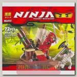 Конструктор Ниндзя в засаде, 72 детали
