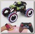 Радиоуправляемый краулер Yearoo Winner Drift Wheels Green 1:10 (часы + пульт)