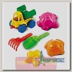 Набор для игры в песочнице №41 с машинкой-самосвалом